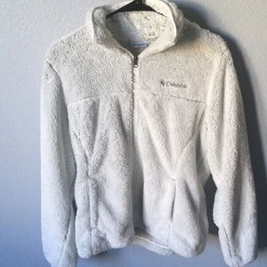 Lightly worn Columbia zip up
